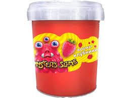 <b>Слайм KiKi</b>, <b>Monster</b>`s <b>Slime</b> Клубника красный купить в детском ...
