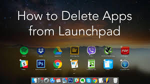 How to remove apps from Launchpad on macOS