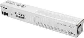 Купить Тонер <b>CANON C-EXV49BK</b>, <b>черный</b> в интернет-магазине ...