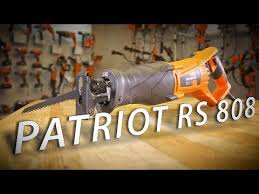 <b>Пила</b> сабельная электрическая <b>Patriot RS 808</b> официальный ...