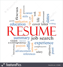 signs and info resume word cloud concept stock illustration resume word cloud concept