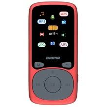 <b>MP3 плеер Digma B4</b> 8Gb красный - купить недорого в интернет ...