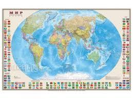 Купить <b>Карта Мир политическая DMB</b> 1220x790mm ОСН1234104 ...