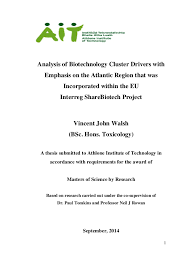 Master thesis biotechnology   report    web fc  com FC  Master thesis biotechnology