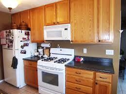 modern kitchen wall colors oak