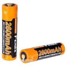 <b>Аккумулятор Fenix ARB</b>-<b>L18</b>-2600 18650 (<b>ARB</b>-<b>L18</b>-2600).