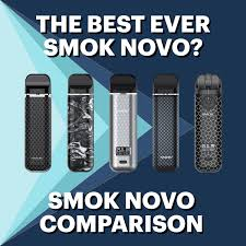 SMOK Novo Comparison - Is the new <b>SMOK Novo 4</b> the best yet ...