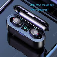 Wireless Earphone <b>Bluetooth</b> V5.0 F9 TWS Wireless <b>Bluetooth</b> ...
