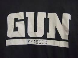 <b>GUN FRANTIC</b> T SHIRT LARGE SIZE SCARCE — NHC MUSIC