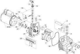 ritchie yellow jacket vacuum pump repair parts