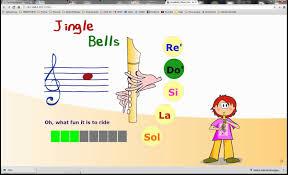Resultado de imagen de aprendo musica jingle bells
