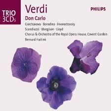 Resultado de imagen para Verdi - Don Carlo