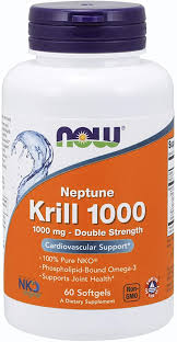 Now Foods <b>Neptune Krill Oil 1000mg</b> Soft-gels, 60-Count: Amazon ...