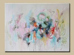 large abstract paintingacrylic abstract pastel shades painting soft color contemporary painting acryclic painting soft
