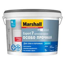 <b>Marshall export 7</b> / Маршал экспорт 7 матовая латексная <b>краска</b> ...
