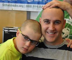 a new definition of beauty photo essay st baldrick s blog bald father and son