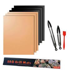 <b>BBQ Grill</b> Mesh <b>Mat</b> Reusable <b>Heat Resistant</b> Roast <b>Pad Non</b>-<b>Stick</b> ...