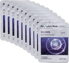 Anskin Collagen Secriss Pure Nature Mask Pack <b>маска</b> для лица ...