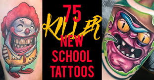 75 Killer <b>New School Tattoos</b> by Some of the World's Best Artists ...