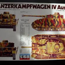 <b>Модель</b> танка Fuman/Bandai PzKpfw IV Ausf. H 1/48 – купить в ...