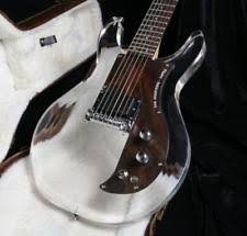 Clear <b>Acrylic</b> Body Right-Handed <b>Electric Guitars</b> for sale | eBay