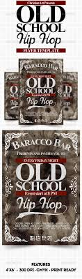 old school hip hop flyer by christian graphics graphicriver old school hip hop flyer events flyers