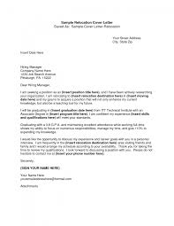 10 relocation cover letter cover letter website