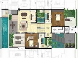 American House Plans Designs  american house designs and floor    House Floor Plans   Pool