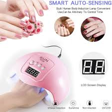 <b>48W</b> Cordlesss <b>LED</b>/<b>UV</b> Nail Lamp Gel Polish Nail Light Dryer ...