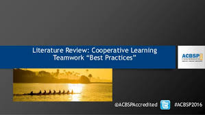 Literature review on building team effectiveness   gamitio com A Literature Review on Leadership in the Early Years   Childhood   Early Childhood