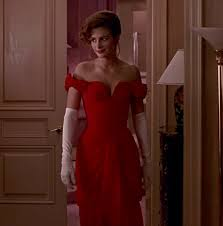 Lady in Red / Красное платье из «<b>Красотки</b>» | CineModa