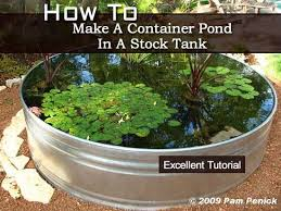 diy patio pond: how to make a container pond in a stock tank container water gardens stock tank ponds ponds water waterfalls ponds fountains water ponds ponds patios