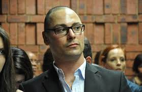 Hackers used Carl Pistorius's Twitter account to falsely claim that his brother - Oscar - would be doing interviews about the murder charges he faces - article-0-183CA674000005DC-673_634x411