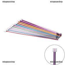 """<b>11Pcs</b> 10.6"""" multicolour <b>Aluminum TUNISIAN</b> / AFGHAN Crochet ..."""