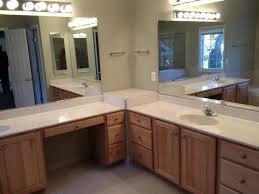 contemporary small corner bathroom vanity set with glossy white modern bathroom light fixtures bathroom bathroom vanity lighting remodel custom