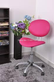 pink metal bedroom chair