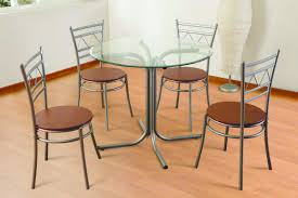 ogee glass dining table