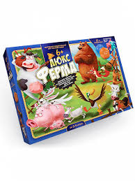 <b>Настольная игра</b> Ферма Люкс G-FL-01-01 <b>Danko Toys</b> - купить в ...