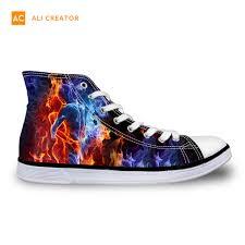 China <b>2019</b> New Custom Printed Vulcanized <b>Canvas Shoes Men</b> ...