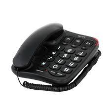 Купить <b>Телефон</b> проводной <b>teXet TX</b>-<b>214</b> Black в каталоге ...