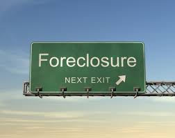 Picture of Foreclosure Sign