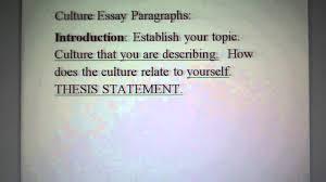 culture essay paragraph details culture essay paragraph details