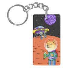 Shibe Doge Astro and the Aliens Memes Cats Cartoon Double-Sided ... via Relatably.com
