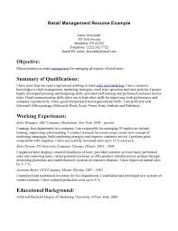 resume examples  resume objective examples retail  resume        resume examples  resume objective examples retail with working experience as sales manager  resume objective