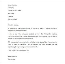 call center customer service cover letter cover letter samples for    call center customer service cover letter