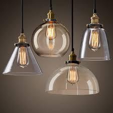 vintage ceiling lighting. New Modern Vintage Industrial Retro Loft Glass Ceiling Lamp Shade Pendant Light Lighting R
