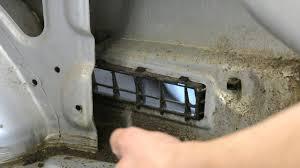 <b>Hyundai</b> Accent 2. Решетки вентиляции. Откуда пыль и вода в ...