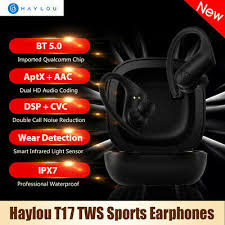 <b>Haylou T17 TWS</b> Wireless Earphones Bluetooth Headphones Aptx ...