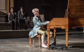 the national theatre s amadeus is note perfect review