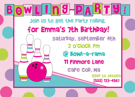 birthday party invitation templates drevio invitations design printable bowling birthday party invitations templates for birthday invitations